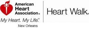 American Heart Association Heart Walk New Orleans | New Orleans Moms Blog