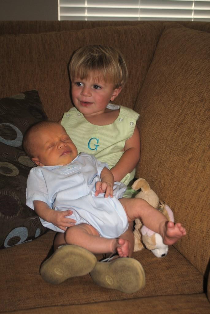 2 boys under 2 | New Orleans Moms Blog