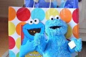 Cookie monster present | New Orleans Moms Blog