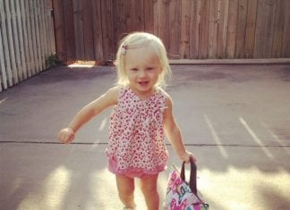 First day of preschool | New Orleans Moms Blog