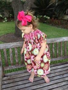 Little Crane smocked dress | New Orleans Moms Blog