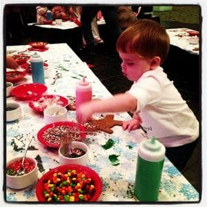 Gingerbread Tea at Crowne Plaze | New Orleans Moms Blog
