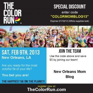 The Color Run New Orleans
