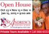 St. Andrew's Open House