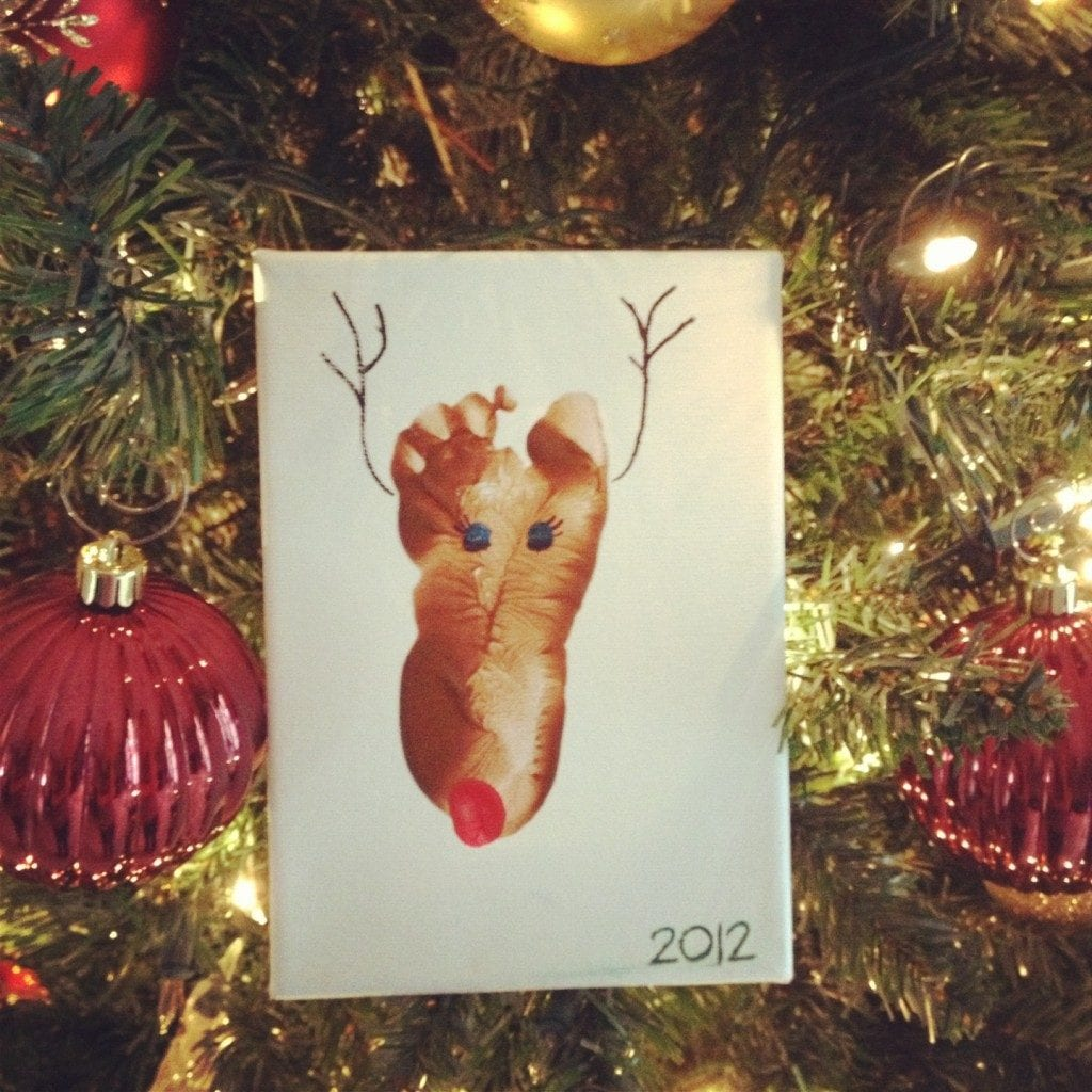 Reindeer Footprint