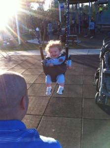 Nathaniel Swinging