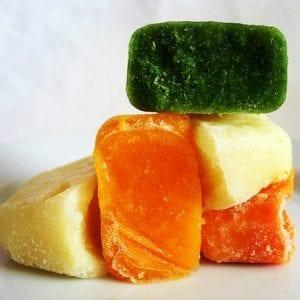 ice cube veggies