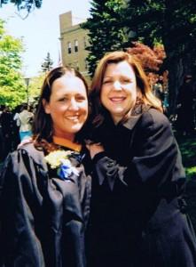Trish & Mom College Graduation