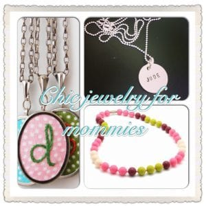 Chic jewelry for mommies