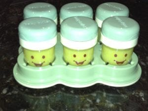 Baby Bullet Jars of Summer Squash