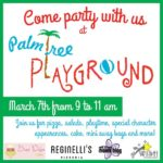 Come Party With Us at The Palm Tree Playground {Sponsored Event Announcement}