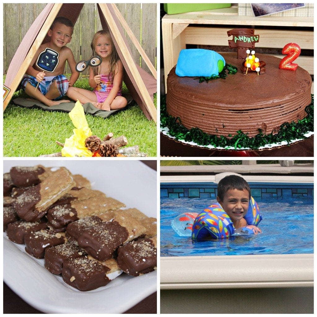 Camping Party Food and Fun I New Orleans Moms Blog