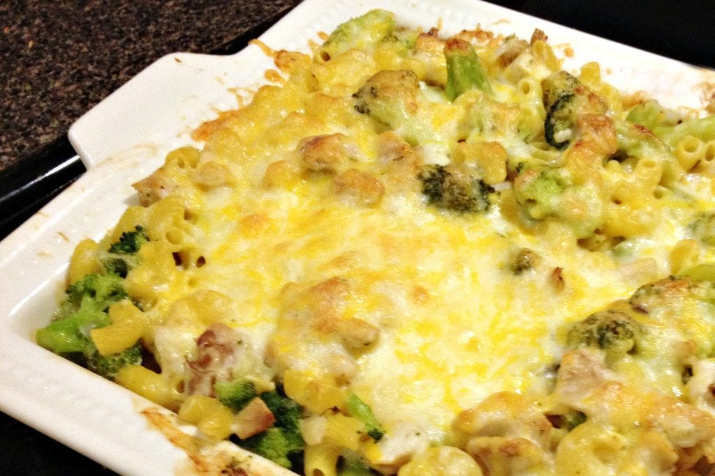Chicken & Broccoli Pasta Bake I New Orleans Moms Blog