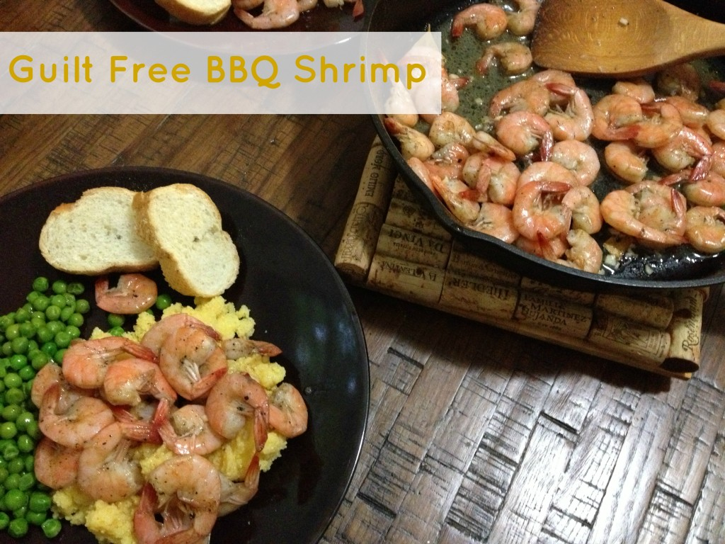 Guilt Free BBQ Shrimp | New Orleans Moms Blog
