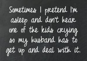 mommy confession