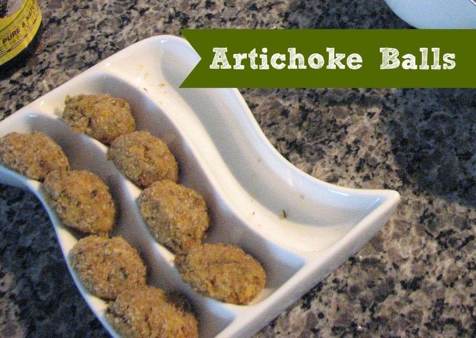Artichoke Balls | New Orleans Moms Blog