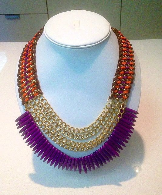 Candy Apple Statement Necklace I New Orleans Moms Blog