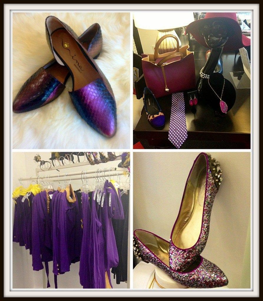 Purple Fashion at Feet First