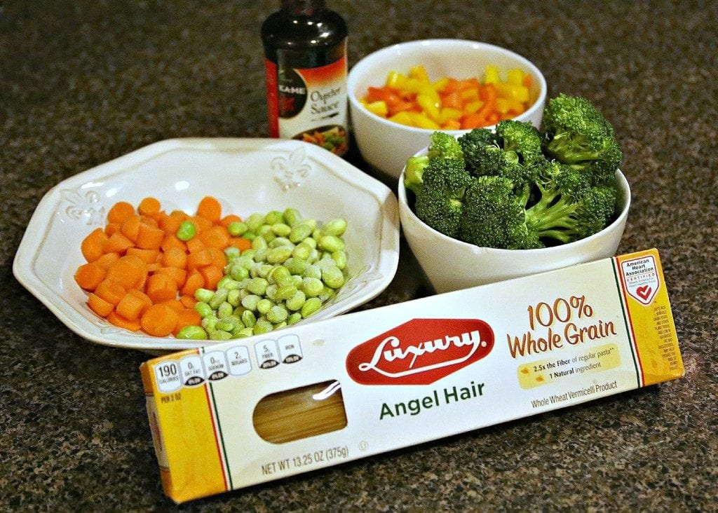 Easy Shrimp Lo Mein Ingredients I New Orleans Moms Blog