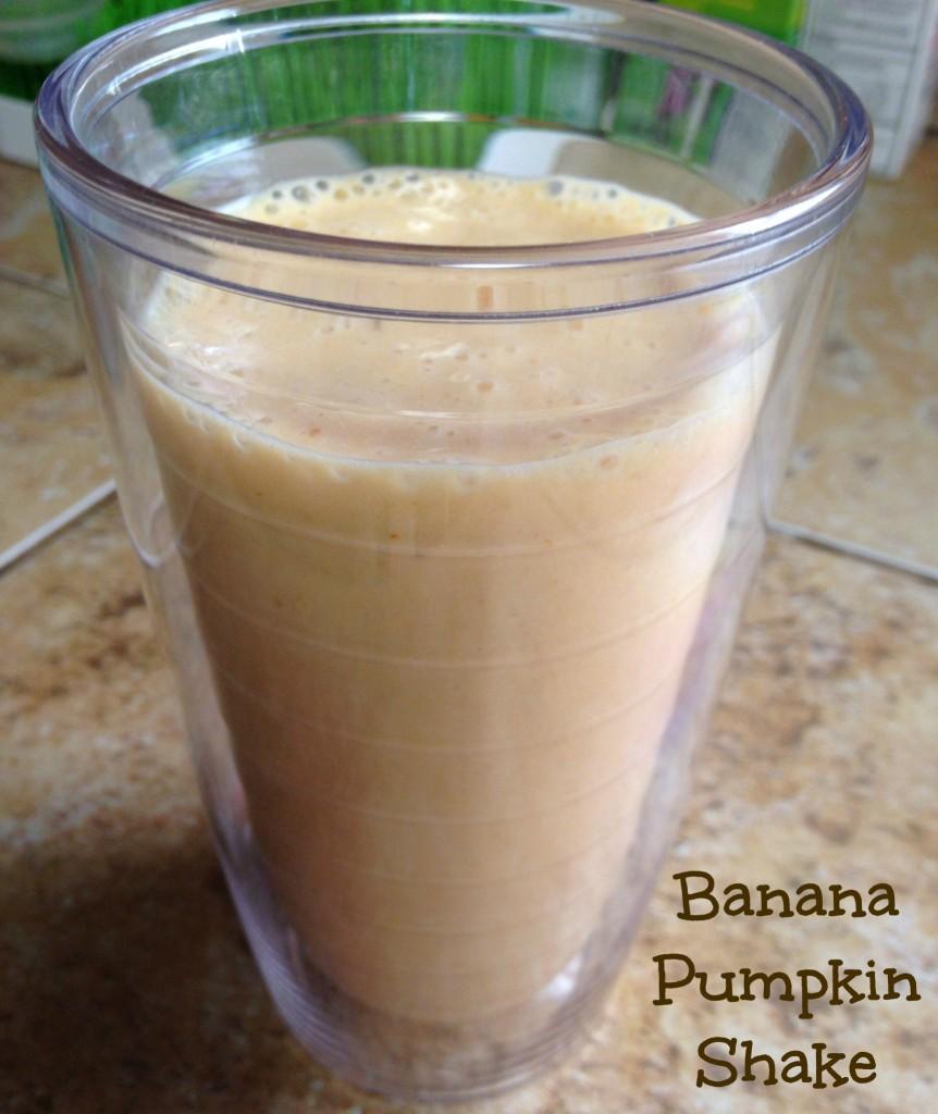 pumpkin banana shake