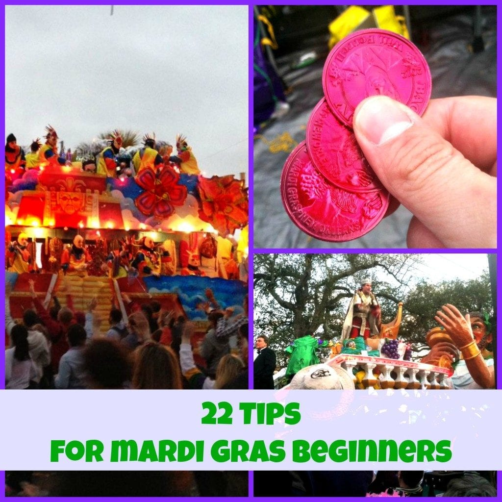 Mardi Gras Collage