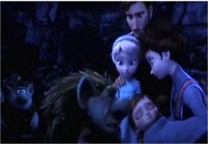 Frozen-royal-family-and-trolls