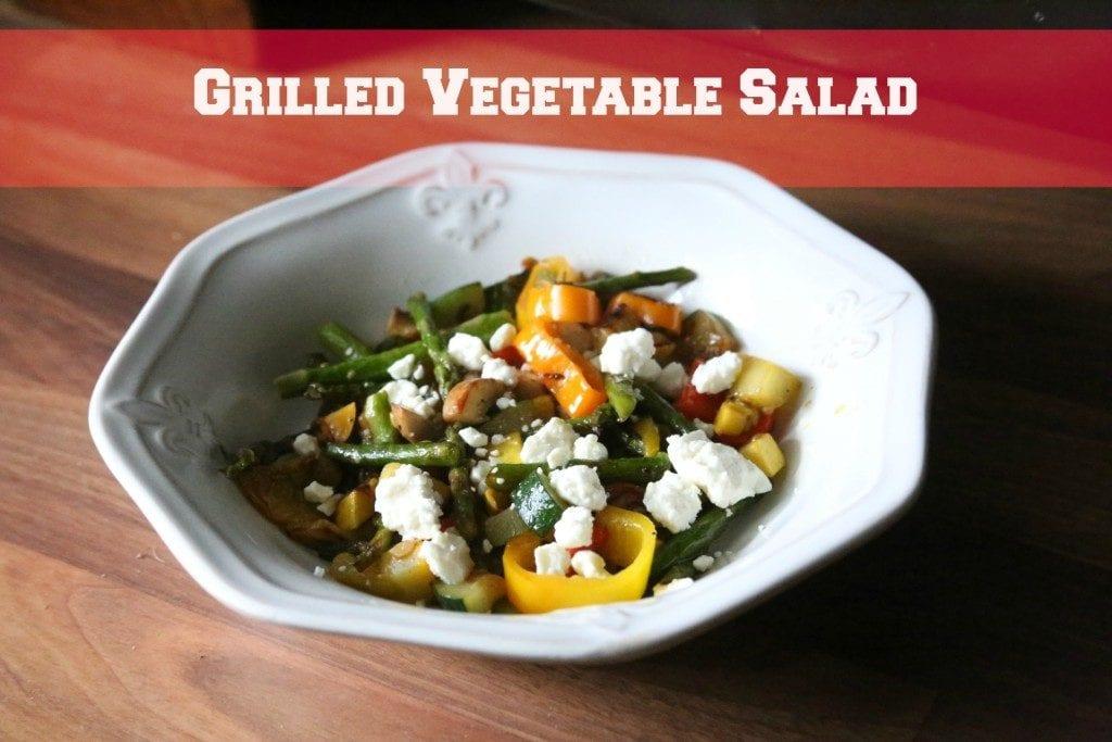 Grilled Veggie Salad I New Orleans Moms Blog