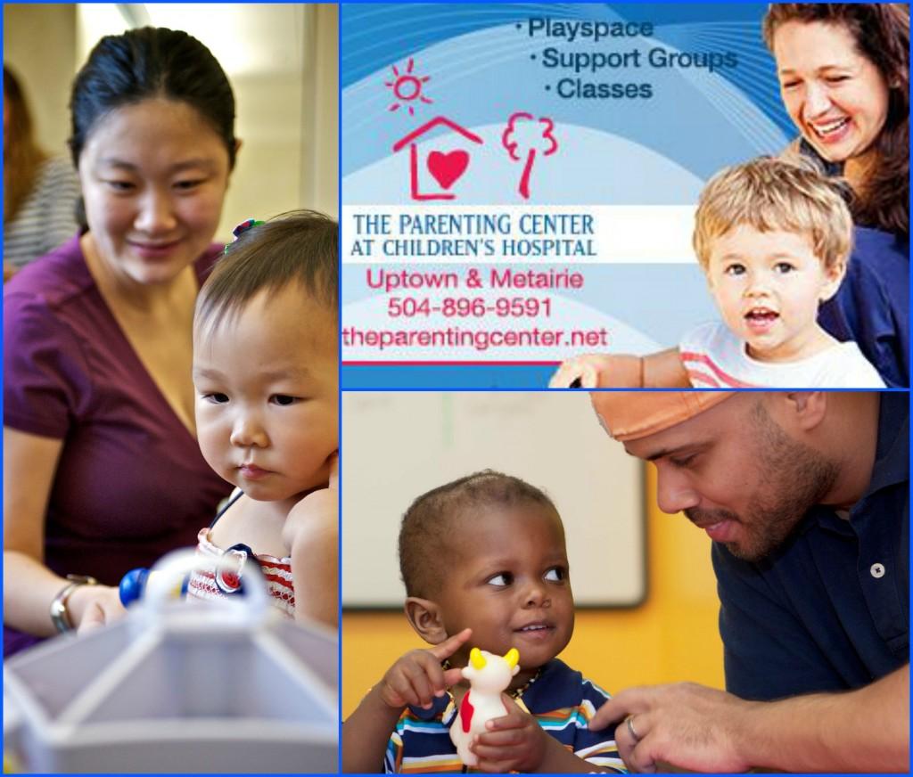 Parenting Center Collage