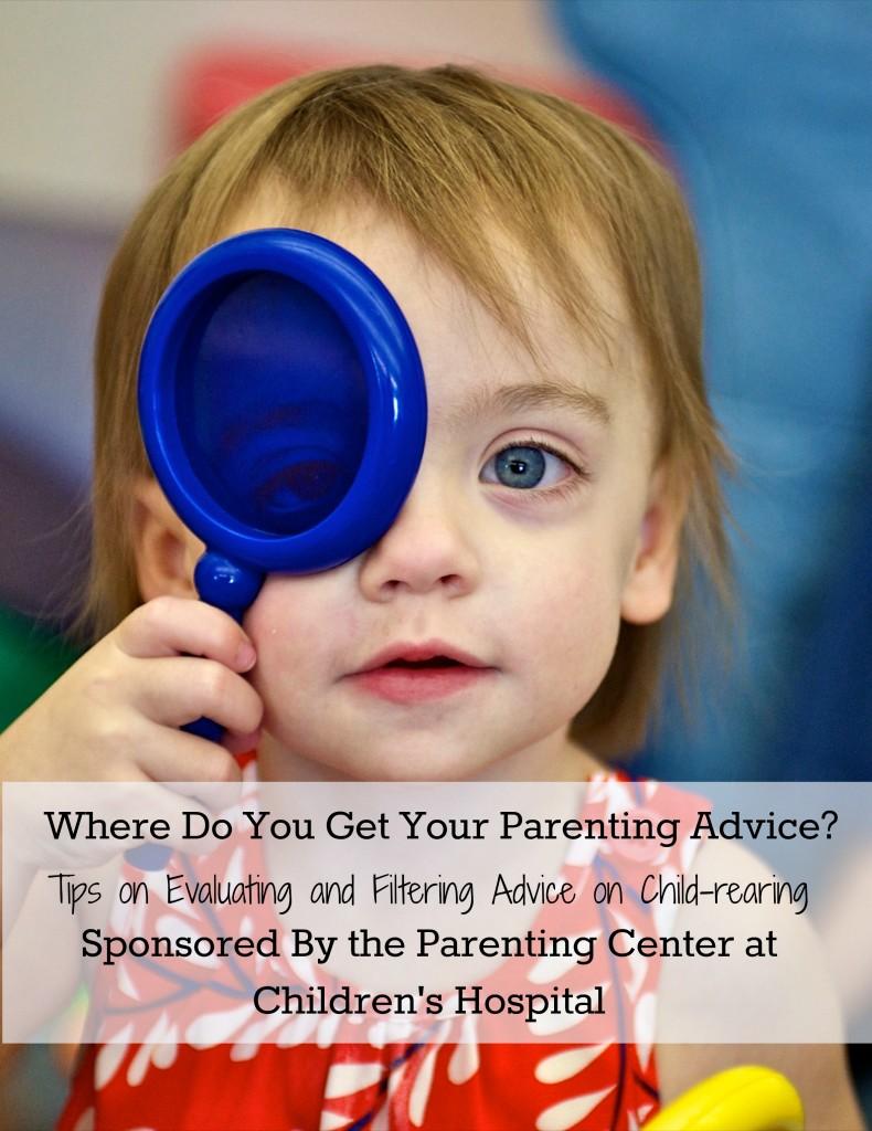 Where do you get your parenting advice