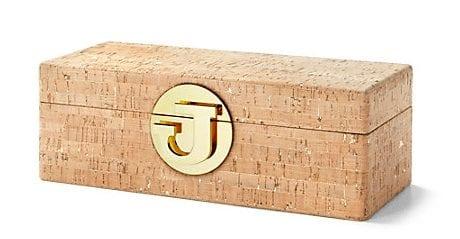 Gold Flecked Cork Jewelry Box