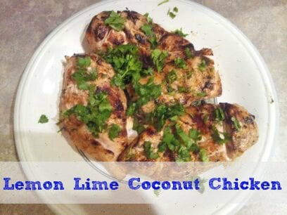Lemon Lime Coconut Chicken