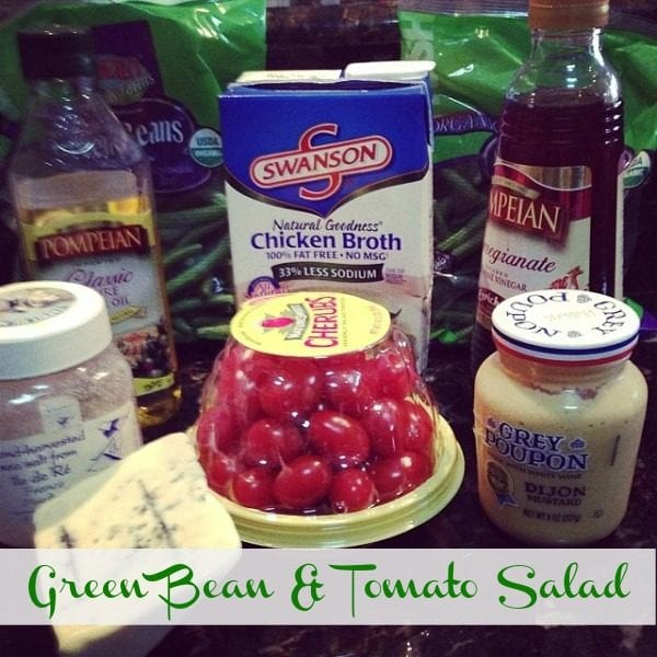 green bean tomato salad