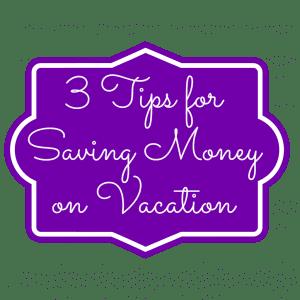 saving money on vacation