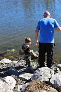 Fishing in the Spillway I New Orleans Moms Blog