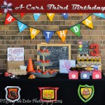 Everything You Need To Plan A Cars Birthday at Home {With FREE Printables}