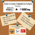 Back to School Playdate at Thibodeaux School of Music {Sponsored Playdate Announcement}
