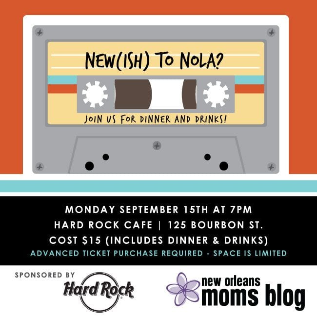 New to Nola Event at Hard Rock