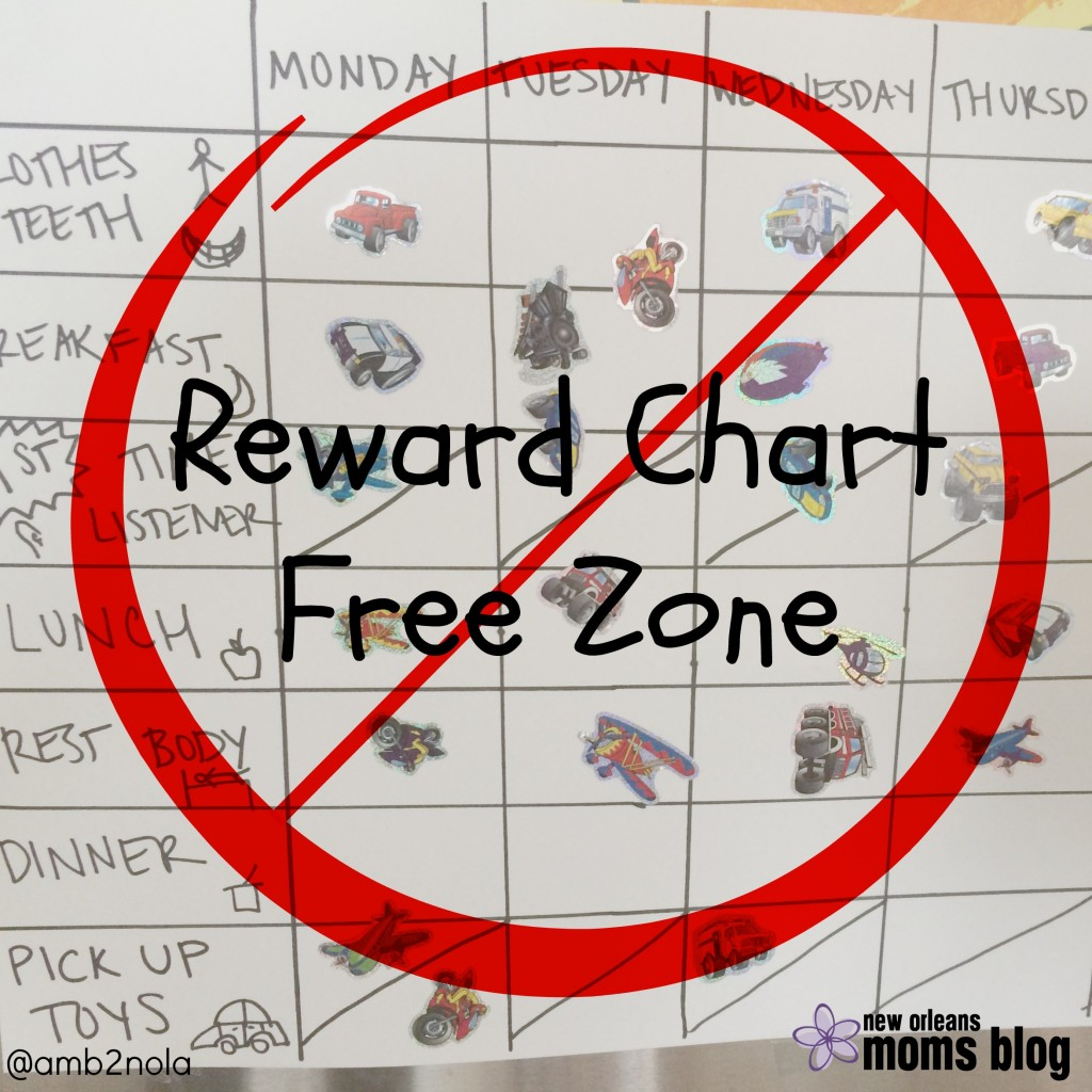Reward Chart Free Zone