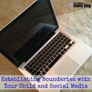 social media boundaries