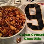Cooking Up a Winning Tailgating Snack: Cajun Crunch Chex Mix