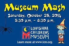 museum mash Louisiana Children's Mueseum
