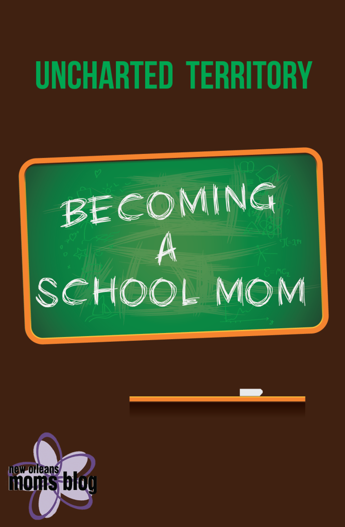 first time school mom