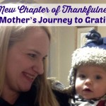 A New Chapter of Thankfulness: One Mother's Journey to Gratitude