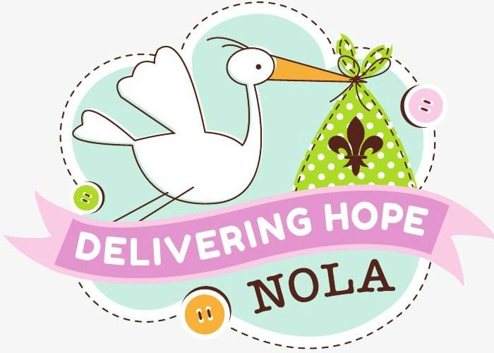 delivering hope nola logo