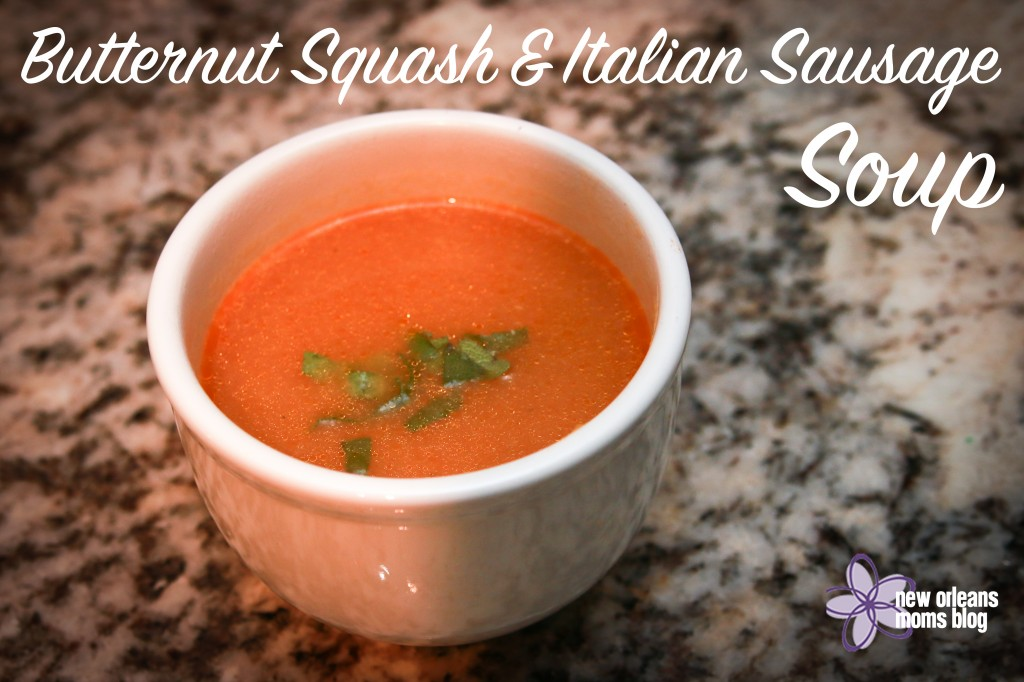 Butternut Squash Soup : New Orleans Moms Blog