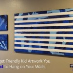 Budget Friendly Kid Art You Actually Want to Hang on the Wall