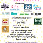 Announcing Our 2014 Second Annual Easter Egg Hunt {Raffle to Benefit the March of Dimes}
