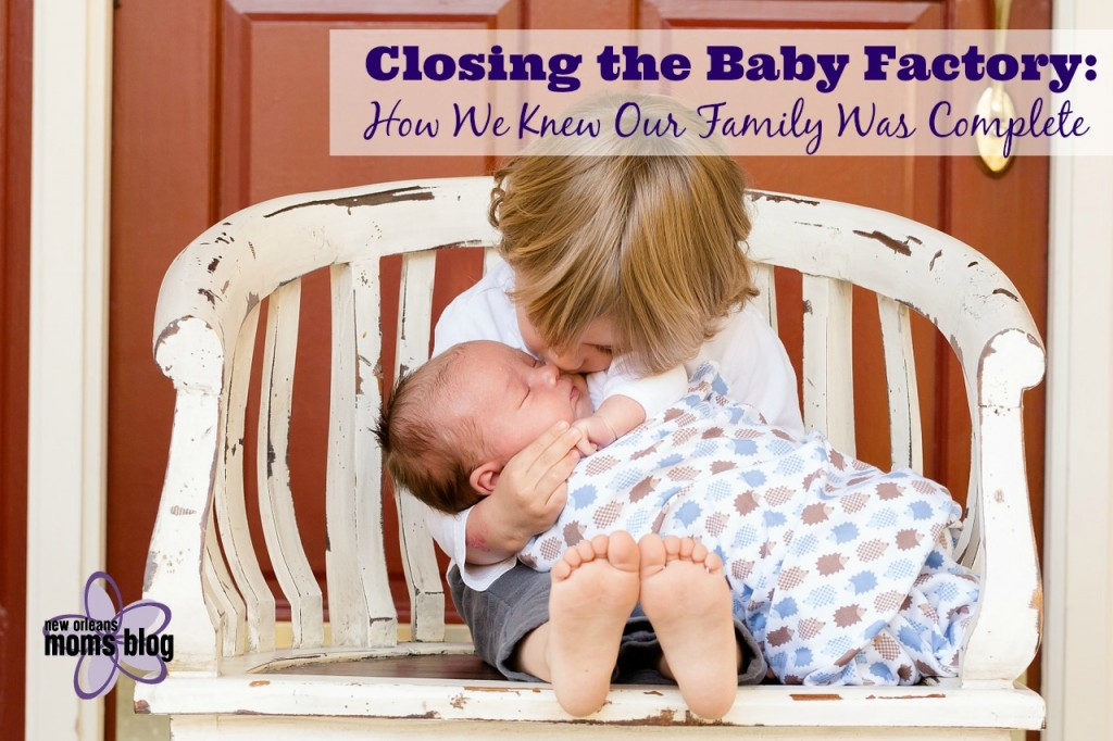 closing the baby factory