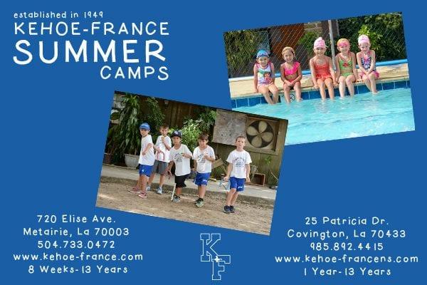kehoe france summer camp