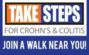 Take Steps for Crohns
